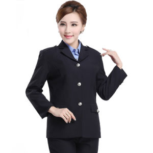 Suit/Uniform/Workwear/Jackets for Winter, Security Guard pictures & photos
