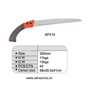 65mn Carbon Steel Saw with Plastic Handle pictures & photos