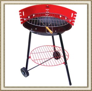 Charcoal BBQ Grill with Wheels (CL2C-ADJ03B) pictures & photos