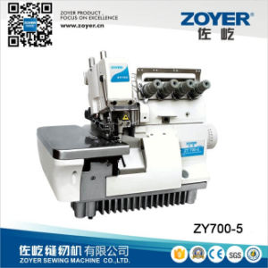 Zy700-5 Zoyer Direct Drive Five Thread Overlock Sewing Machine pictures & photos