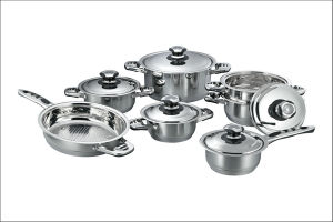 High Quality 12PCS Stailess Steel Cookware Set (CS112002) pictures & photos