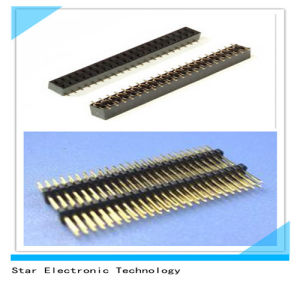 Nylon Male Female PCB Pin Header Connector Double Row pictures & photos