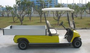 Hotel 2 Seater Electric Cargo Car pictures & photos