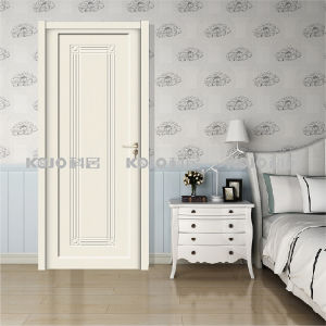 Solid Waterproof WPC Interior Painting Door for Bedroom Bathroom (YM-063) pictures & photos