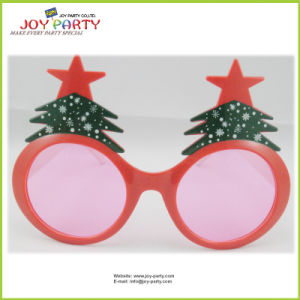 Promotion Red Christmas Tree Party Glasses pictures & photos