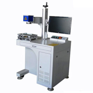 Desktop Fiber Laser Marking Machine pictures & photos
