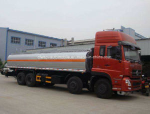 8X4 LHD 30000 Liters Steel Fuel Truck 30 Tons Oil Tank Truck pictures & photos