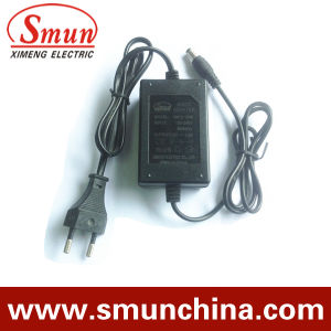 12V1a AC/DC Indoor Monitor Power Supply Adapter European (SM-12-1) pictures & photos