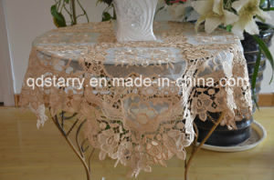 New Lace Fabric Tablecloth pictures & photos
