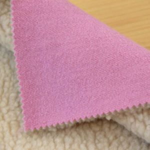 Berber Fleece Wool Laminated Fabric for Coat
