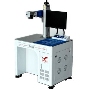 China Cheep Laser Marking and Engraving machine for Adapter Cover pictures & photos