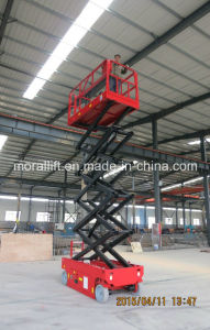 Mobile Self-propelled Scissor Lift Table pictures & photos