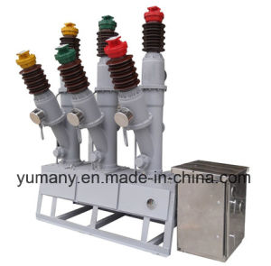 Outdoor High Voltage Sf6 Sulfur Hexafluoride Circuit Breakers (LW8-40.5) pictures & photos