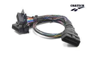 Obdii Male to 2 Obdii Female (Assembly Style Straight) Cable pictures & photos