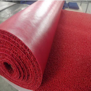 Non-Slip PVC Coil Mat with Thick Silk Unfoam Backing pictures & photos