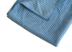 High Quality Cleaning Cloth Double Sides Stripe Microfiber Cloth for Multipurpose (4019) pictures & photos