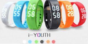 Colorful W2 Custom Wholesale Fitness Wristband, Sleeping Monitor, Smart Bracelet