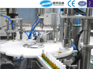 Color Cosmetic Nail Polish Automatic Filling Capping Machine pictures & photos