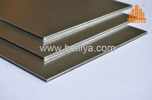 Aluminium Composite Material / Ad838 Silver Brushed pictures & photos