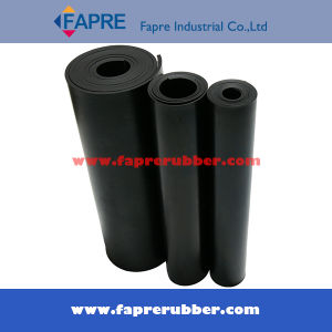 Black Red SBR Rubber Sheet Roll Mat pictures & photos