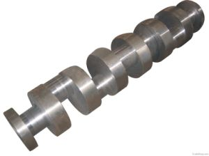 Forged SAE4140 Steel Crank Shaft Manufacturer pictures & photos