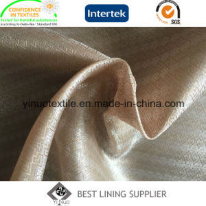 Polyester Dobby Lining with Beautiful Flower Good Quality pictures & photos