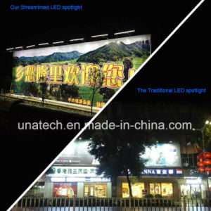 Solar Outdoor Billboard LED Steamlined Flood Light pictures & photos