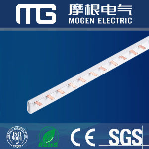 Safety U Type MCB Copper Busbar 63A pictures & photos