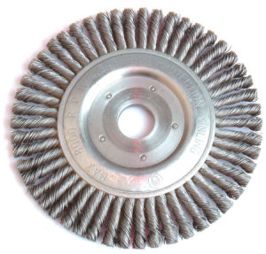 Wheel Brushes with High Quality (Twist Knotted Wire)