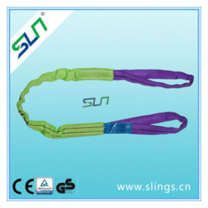 Sln 100% Polyester Double Eyes Round Sling pictures & photos