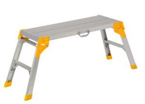 Gorilla Ladder 20-Inch High Work Platform Aluminum Construction with Safety Legs