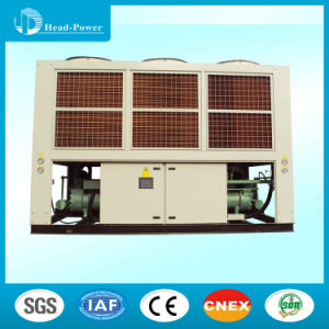 180HP HVAC Air Flow Air Cooled Screw Industrial Water Chiller pictures & photos