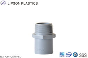 PVC Plastic Pipe Fitting of Male Adaptor pictures & photos