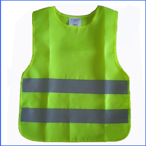 Green or Red Color Reflective Safety Waistcoat pictures & photos
