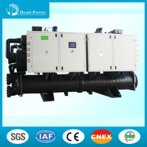 Screw Geothermal Heat Pump Water Cooled Water Chiller pictures & photos