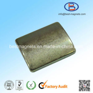 Strong Rare Earth Custom Arc Shape NdFeB Neodymium Magnets pictures & photos