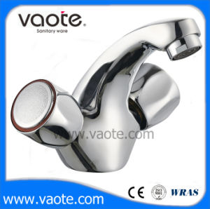 Double Handle Zinc Body Basin Faucet/Mixer (VT61303) pictures & photos