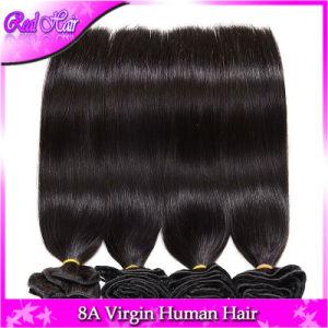 Cheap Light Yaki Straight Brazilian Virgin Hair Weave Bundles 6A 2bundles Deal Italian Yaki Brazilian Straight Human Hair Weaves pictures & photos