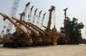 Original CAT Base TR160D Piling / Drilling Equipment pictures & photos