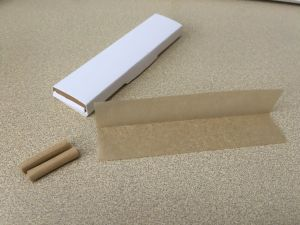 Custom Unbleached/Unrefined Cigarette Rolling Papers Top Selling Product pictures & photos