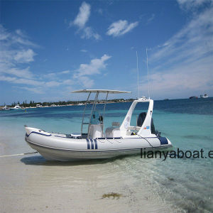 Liya 6.2m 115HP Outboard Motor Boat Speed Inflatable Boat pictures & photos