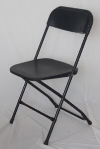 Black Vinyl Folding Chair Plating pictures & photos