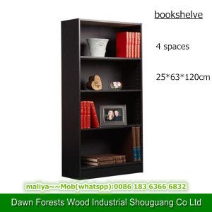 Four Space Panel Furniture Bookshelve pictures & photos