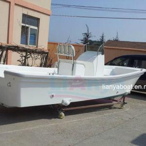 Liya 19ft Fishing Yacht Fiberglass Panga Boat for Fishing pictures & photos