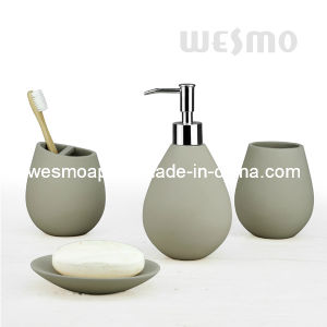 Waterdrop Shape Polyresin Bath Accessories (WBP0826A) pictures & photos