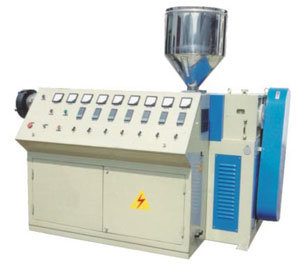 SJ Series Single Screw Plastic Extruder Machine