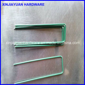 Rust Resistance Galvanized Steel Wire U Type SOD Staples pictures & photos