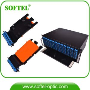 Rack Mounted Fiber Optical Frame ODF 144c pictures & photos
