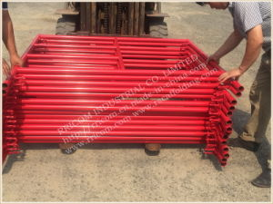 Speed Lock Type Powder Coated Scaffolding Frames pictures & photos