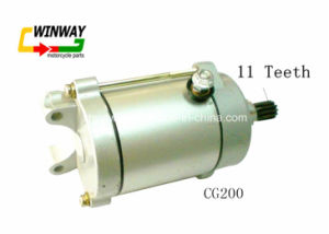 Ww-8828 Good Quality, Motorcycle Parts Starter Motor Cg-200 pictures & photos